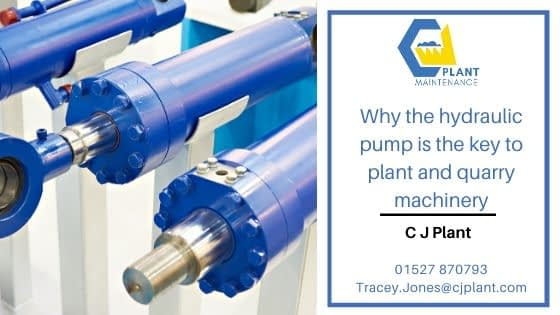Why the hydraulic pump is the key to plant and quarry machinery