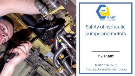 Safety of hyrdaulic pumps and motors